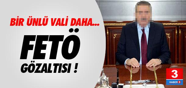 Eski vali Cahit Kıraç'a FETÖ gözaltısı