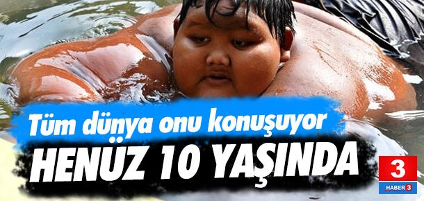Dünyanın en kilolu çocuğu