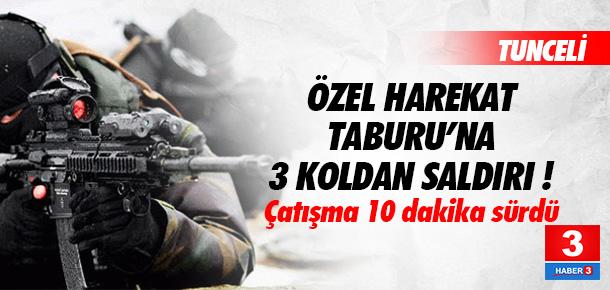 PKK'dan Özel Harekat Taburu'na saldırı