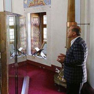 Erdoğan'dan açılış öncesi anlamlı ziyaret