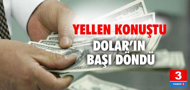 Yellen konuştu, dolar hareketlendi