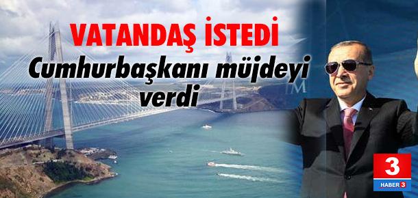 3.köprü 31 Ağustos'a kadar bedava
