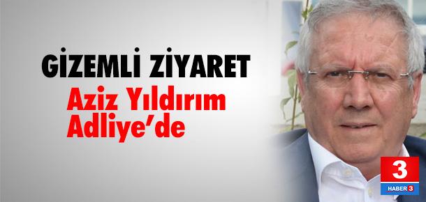 Aziz Yıldırım 3,5 saat Bakırköy Adliyesi'nde kaldı!