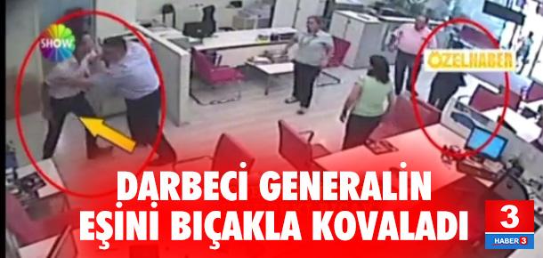 Darbeci general Semih Terzi'nin eşi noterden bıçakla kovalandı