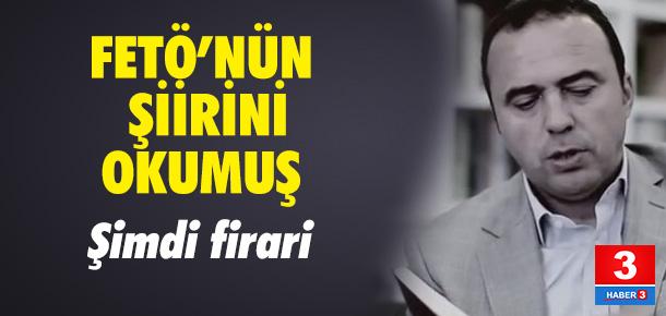 Arif Erdem FETÖ elebaşı Gülen'in şiirini böyle okumuş