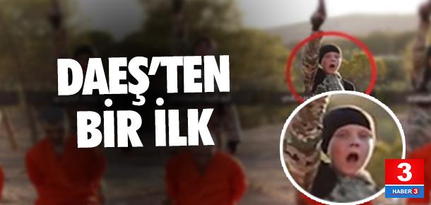 IŞİD'den bir ilk!