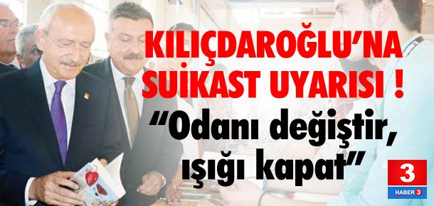 Kılıçdaroğlu önceden uyarılmış !