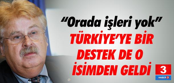 Türkiye'ye bir destek de o isimden !