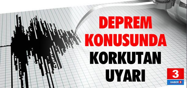 Uzman isimden deprem uyarısı !