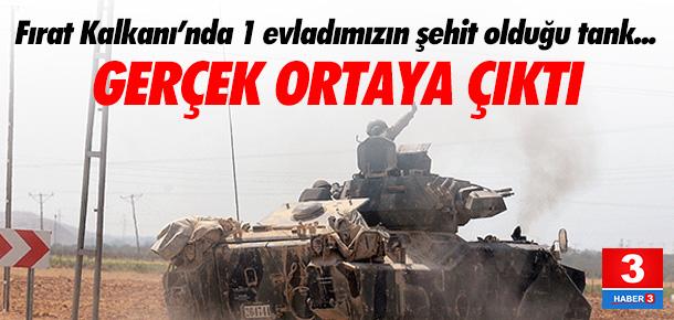 Tankımız Rus silahıyla vurulmuş
