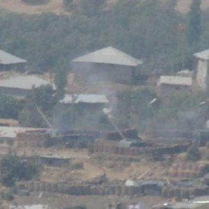 PKK hedeflerine top yağmuru !