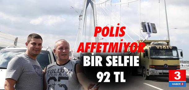 Yavuz Sultan Selim Köprüsü'nde selfie önlemi
