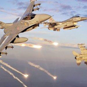 TSK'dan Kuzey Irak'a 2. hava harekatı
