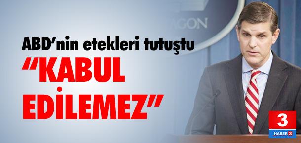 ABD'nin etekleri tutuştu ! Türkiye açıklaması...