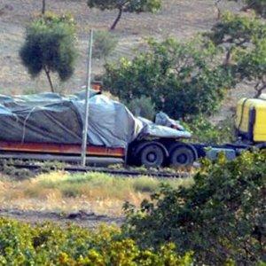 Roketle vurulan tank Türkiye'de