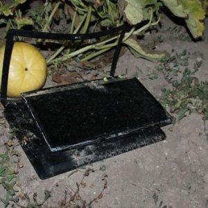 Akıncı Üssü'nün yanında bilgisayar bulundu
