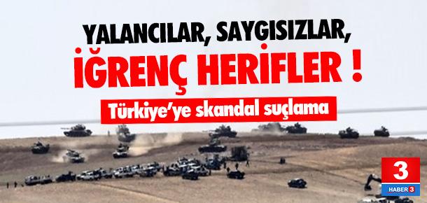 ''Türkiye sivilleri katlediyor'' iğrençliği !