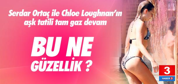 Chloe Loughnan fiziğiyle büyüledi