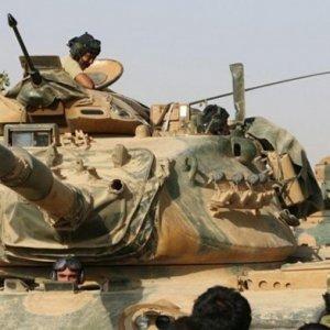 Cerablus'ta 1 tank vuruldu, 3 askerimiz yaralandı