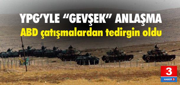 """YPG'yle """"gevşek"""" anlaşma"""""""