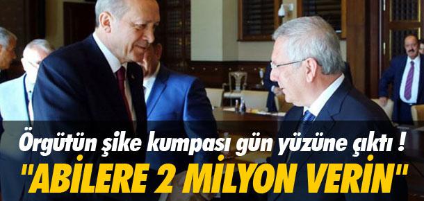 ''Abilere 2 milyon verin''