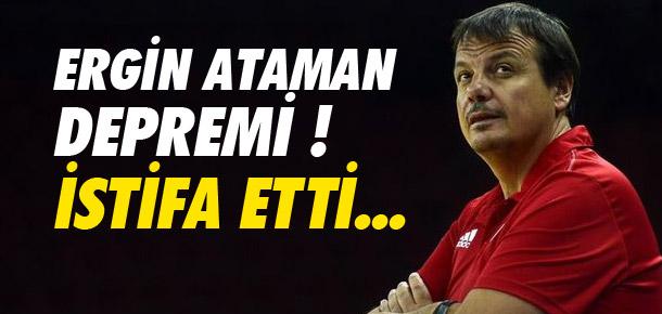 Ergin Ataman istifa etti !