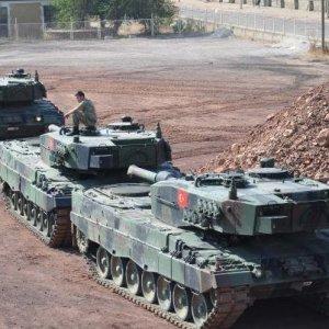 Gaziantep'e 105 tank gönderildi