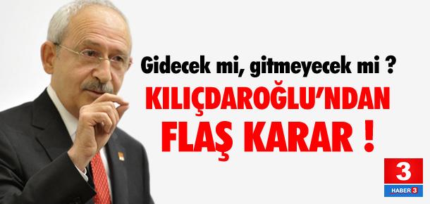 CHP LİDERİ KILIÇDAROĞLU'NDAN FLAŞ KARAR !