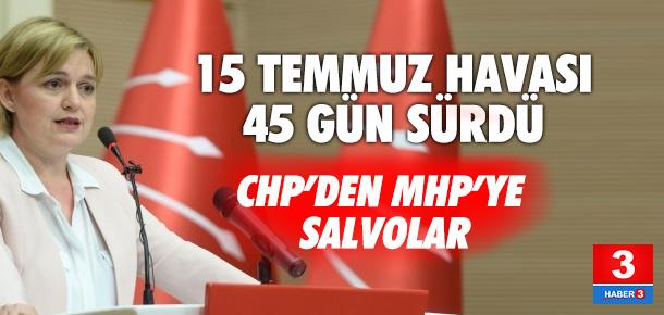 CHP: Bahçeli isterse kongresini sarayın bahçesinde yapabilir