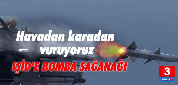 TSK'dan Cerablus açıklaması: 25 hedef 107 atışla vuruldu