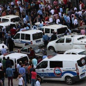 Erzurum'da meydan muharebesi gibi kavga