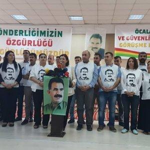HDP, DBP ve DTK Öcalan için açlık grevinde