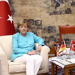 Almanları çıldırtan Erdoğan-Merkel fotoğrafı