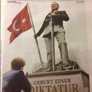 Alman dergisinden skandal Erdoğan kapağı