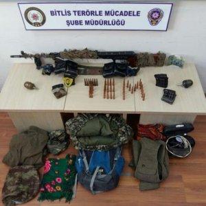 Bitlis'te 3 PKK'lı yakalandı !