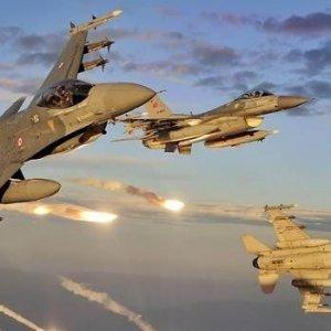 TSK'dan IŞİD'e bomba yağmuru ! İmha edildi