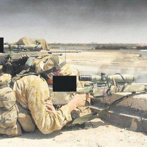 İngiliz askerleri YPG ile omuz omuza