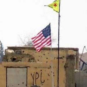 ABD bayrağı 7 gündür PYD karargahında