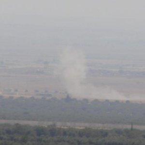 IŞİD havadan ve karadan bombardıman