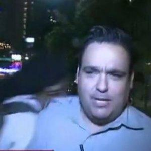 CNN muhabiri canlı yayında saldırıya uğradı