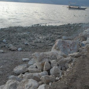 Burdur Gölü'nde korkutan manzara