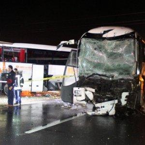 Karabük'te büyük kaza: 68 yaralı
