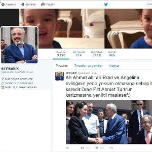 Ahmet Türk ile Angelina Jolie el ele