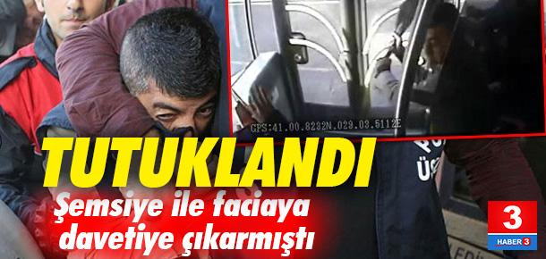 Metrobüste faciaya davetiye çıkaran Murat Akbulut tutuklandı