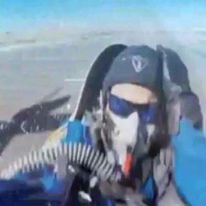 Pilot mucizevi şekilde ölümden döndü.