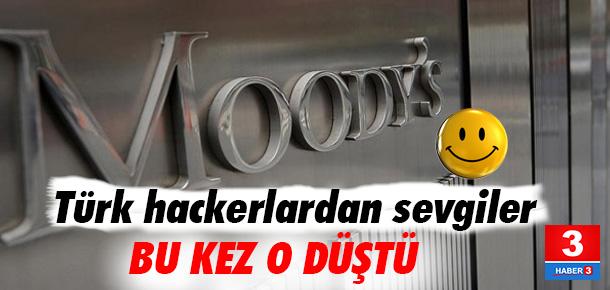 Moody's'in internet sitesini çökerttiler