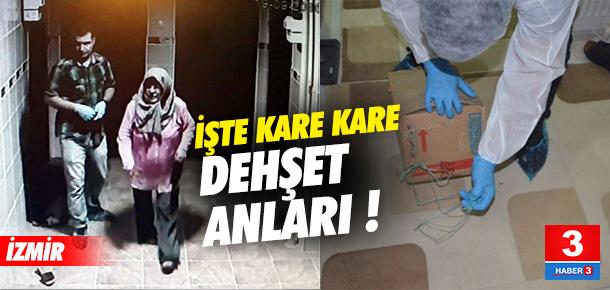 İzmir'deki vahşetin görüntüsü ortaya çıktı