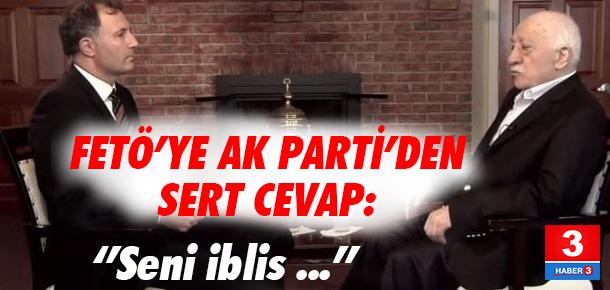 FETÖ elebaşına AK Parti'den cevap