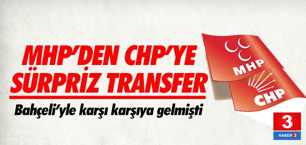 MHP'den CHP'ye sürpriz transfer yolda