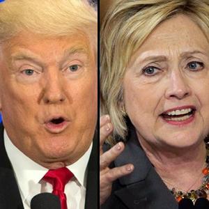 Clinton ve Trump karşı karşıya geliyor